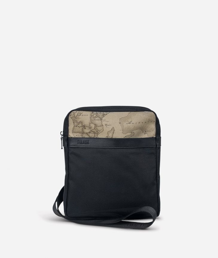 Work Way Mini crossbody bag in nylon,front