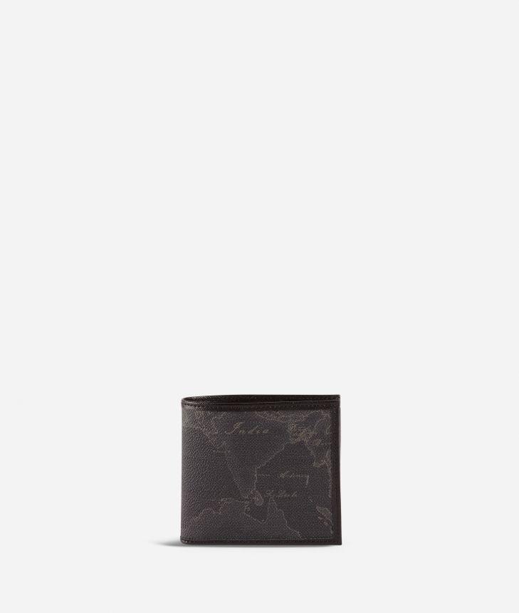 Geo Black small wallet black,front