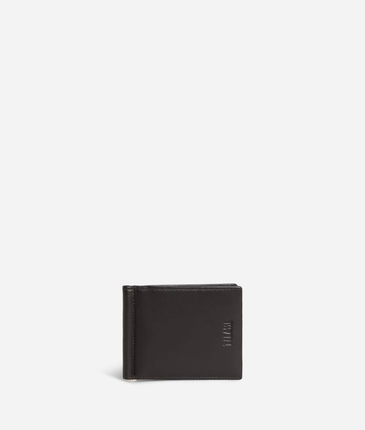 Billfold wallet Geo Classic fabric trims,front