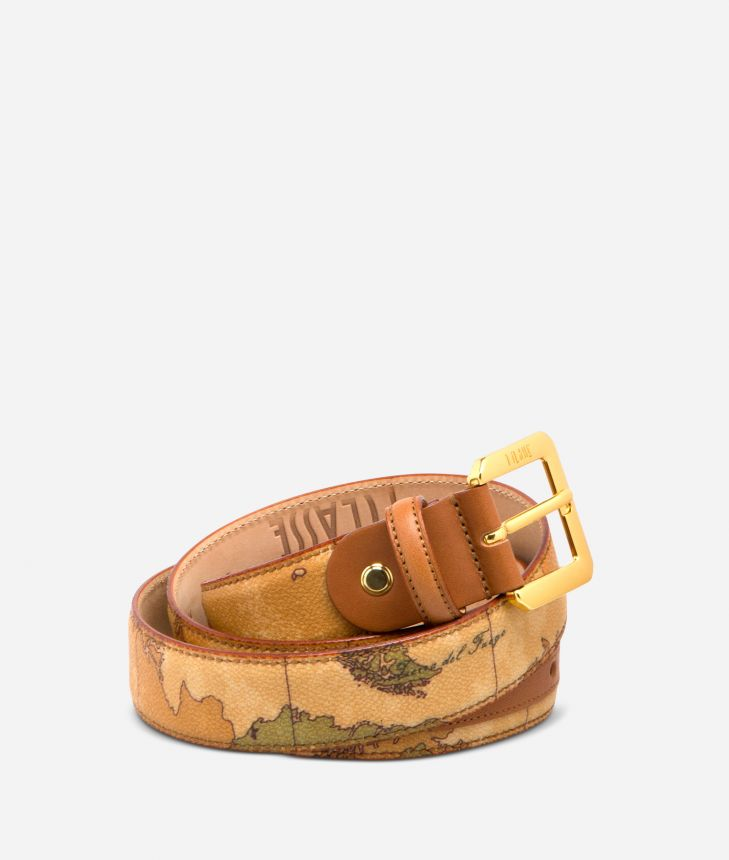 Geo Classic Belt with metal buckle,front