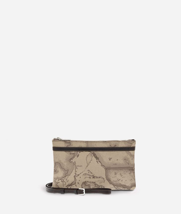 Geo Tortora Medium crossbody bag,front