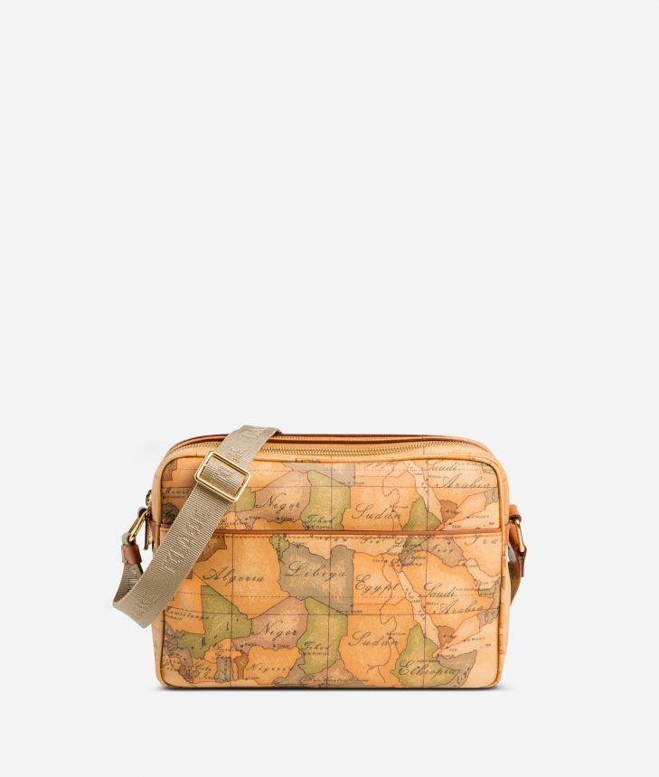 Geo Classic Medium messenger bag,front