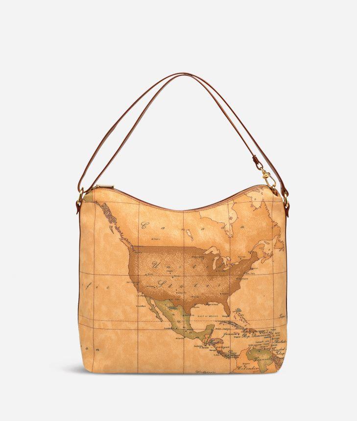 Geo Classic Medium shoulder bag,front