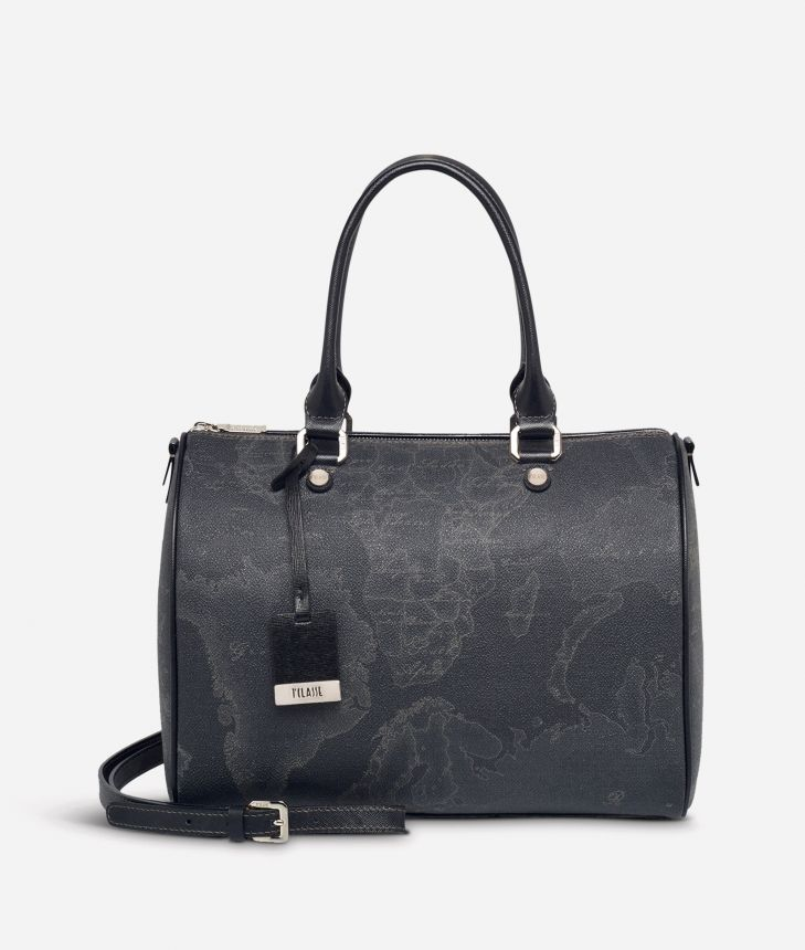 Geo Black Borsa media a bauletto ,front