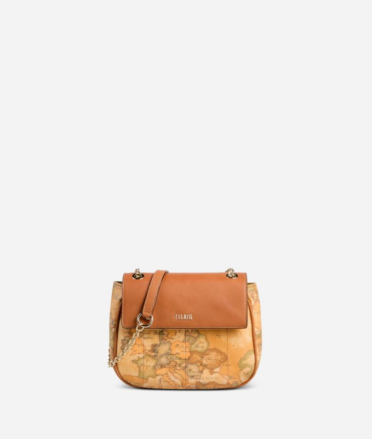 Geo Classic Small bag with lettering,front