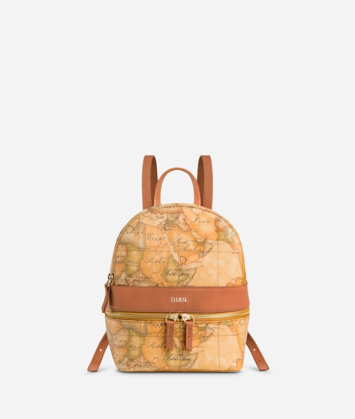 Geo Classic Small backpack with logo,front
