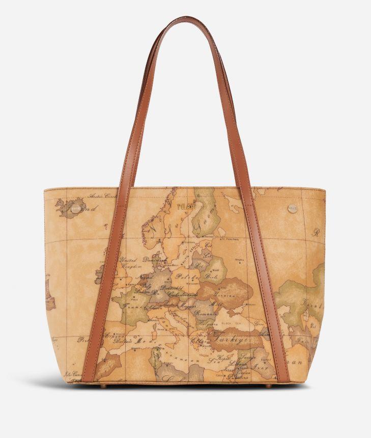 Geo Classic Shopping bag con borchiette media ,front