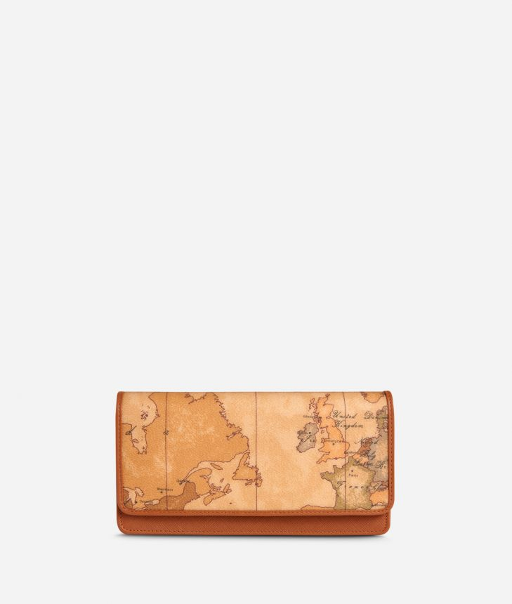 Geo Classic Wallet with document holder,front