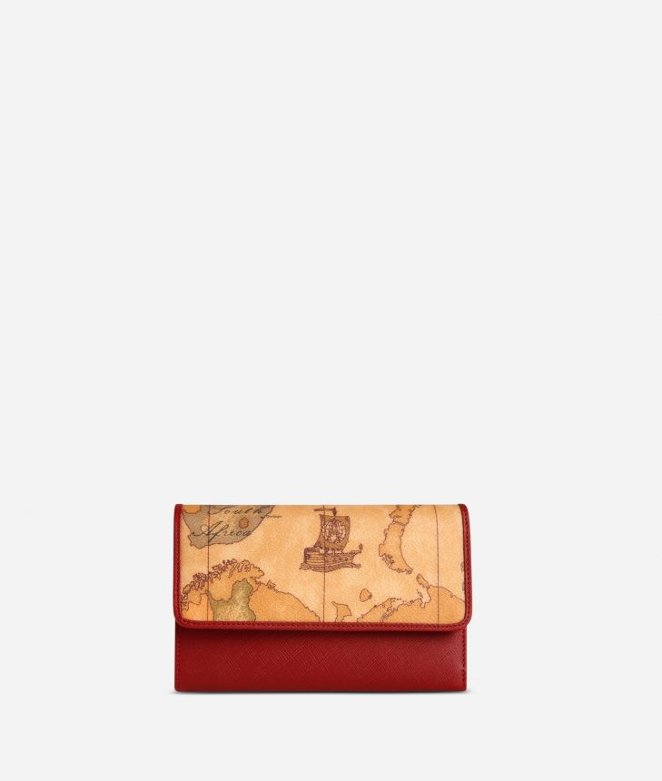Geo Classic Small wallet with pocket,front