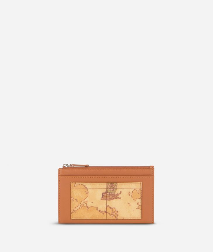 Geo Classic Card holder with key ring,front