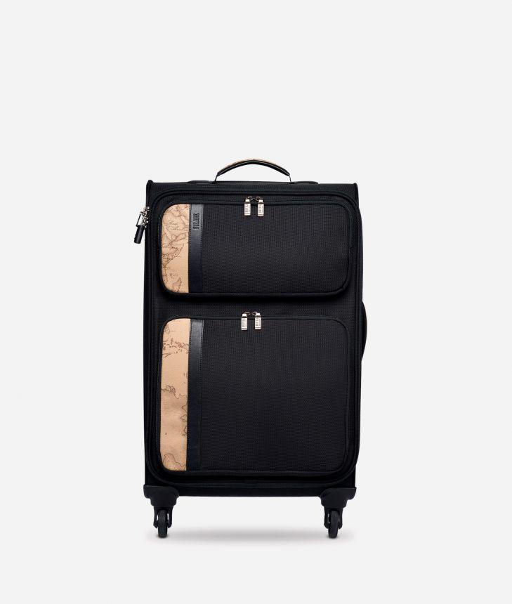 Work Way  Medium nylon suitcase,front