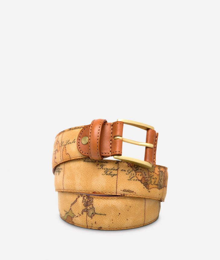 Geo Classic Cintura con fibbia logata,front