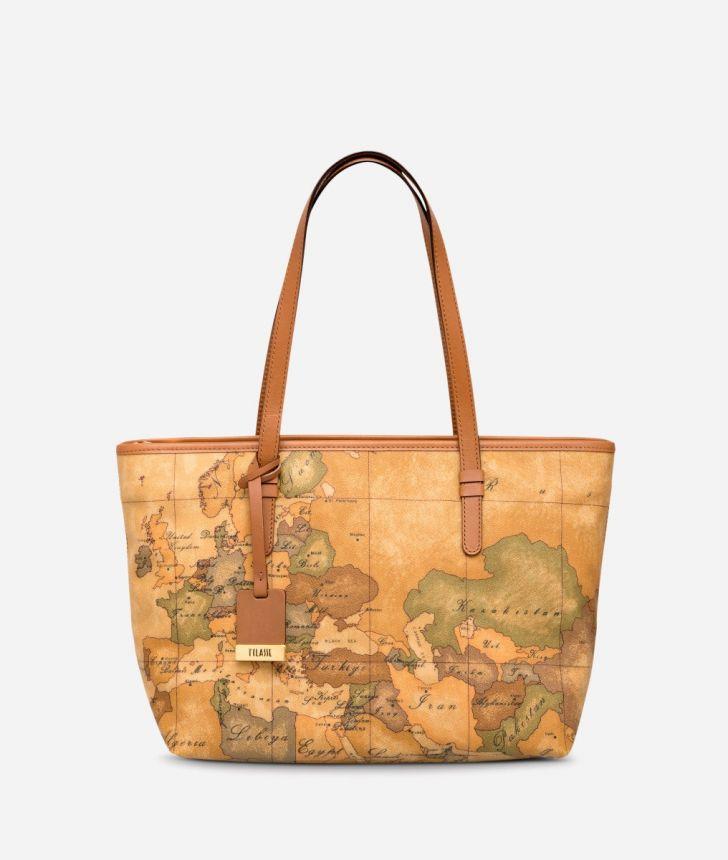Geo Classic Medium shopping bag,front