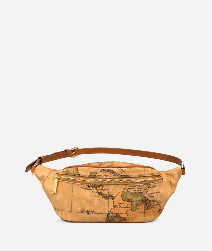 Geo Classic Belt bag with logo buckle,front