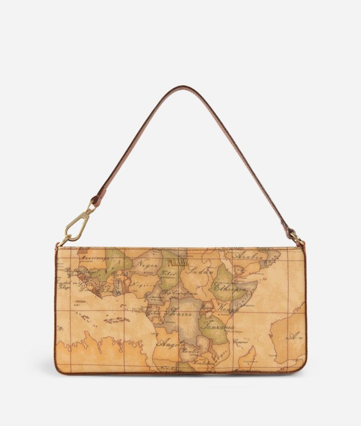Geo Classic Pochette with wristband,front
