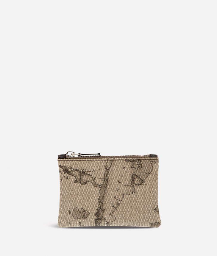 Geo Tortora Rectangular pouch,front