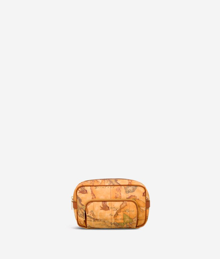 Geo Classic Large beauty case with pocket,front