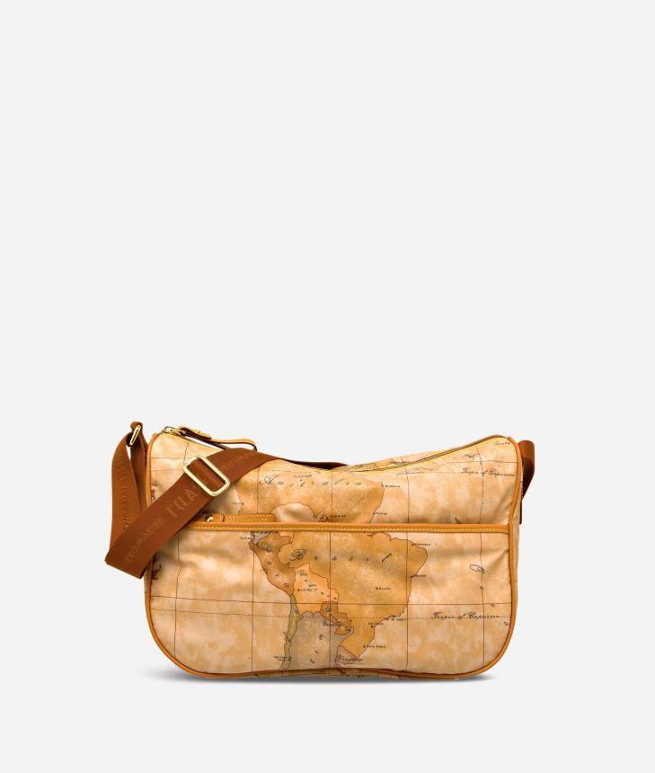 Geo Soft Medium crossbody bag,front