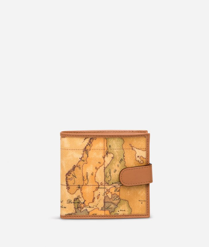 Geo Classic Wallet with coin pocket,front