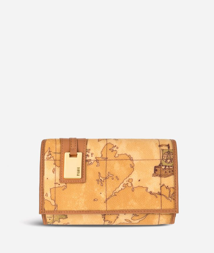 Geo Classic Medium wallet with pocket,front