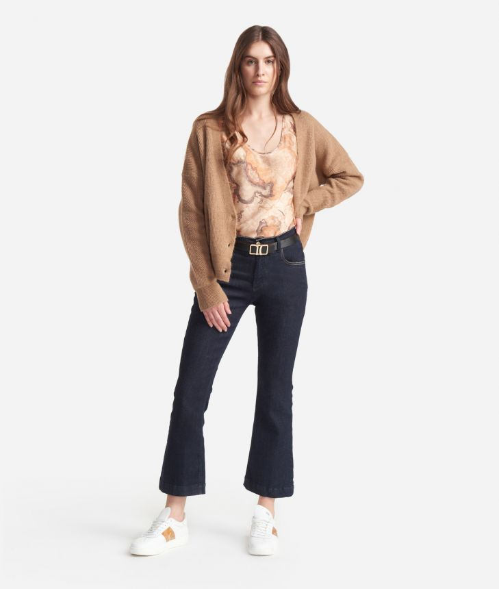 Canotta in twill stampa Geo Classic,front