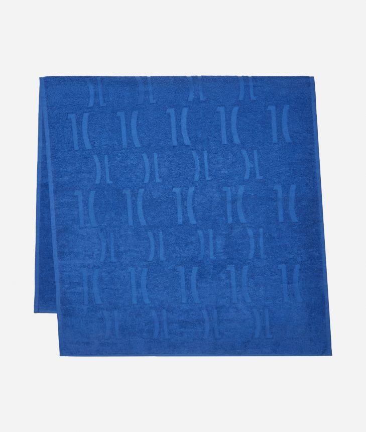 Telo mare 1C Monogram Blu Cobalto,front