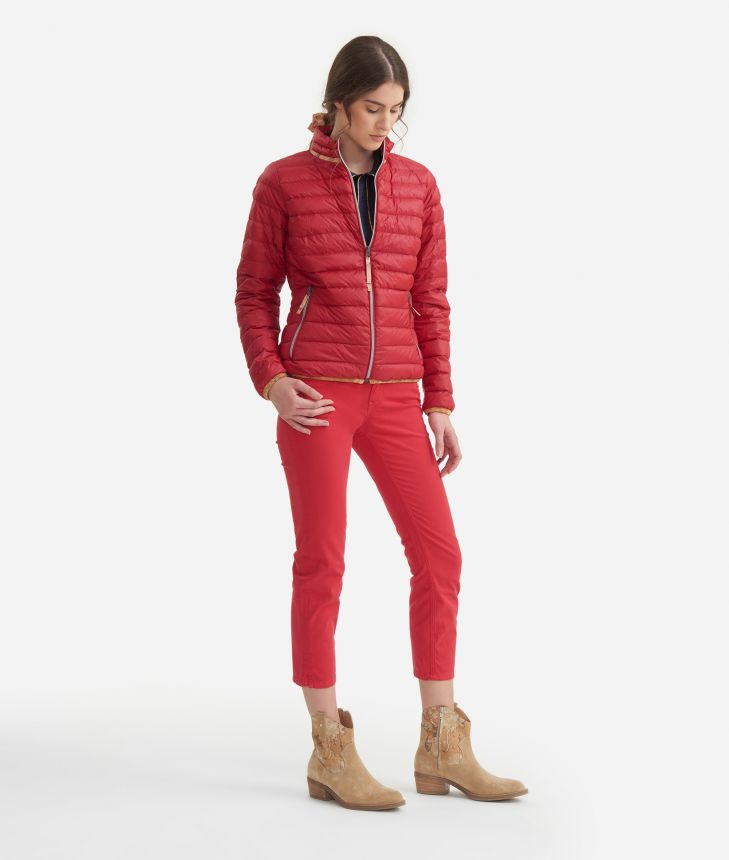 Padded jacket Red,front