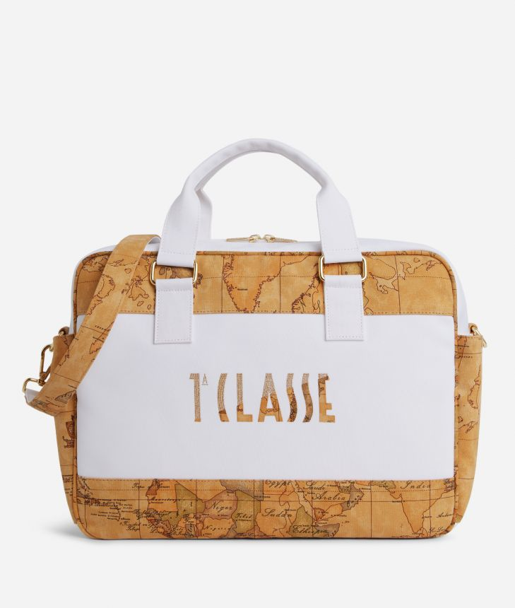 Baby changing bag with logo,front