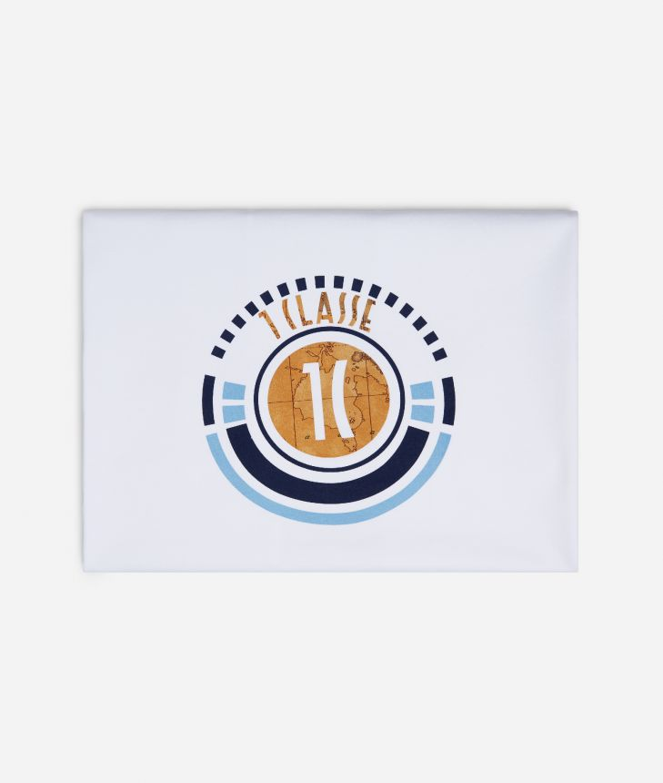 Baby blanket with 1C logo,front