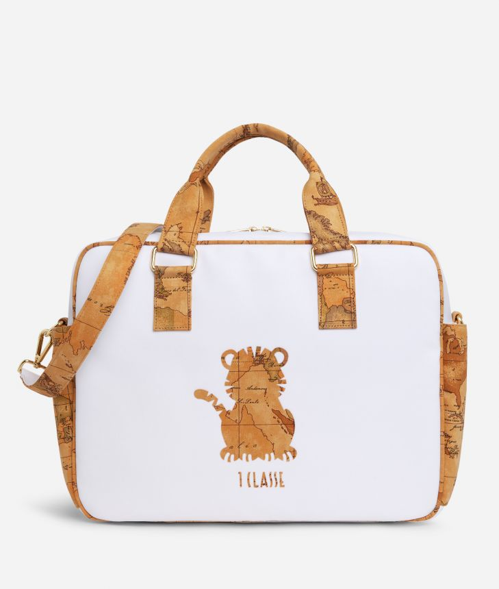 Baby changing bag with tiger,front