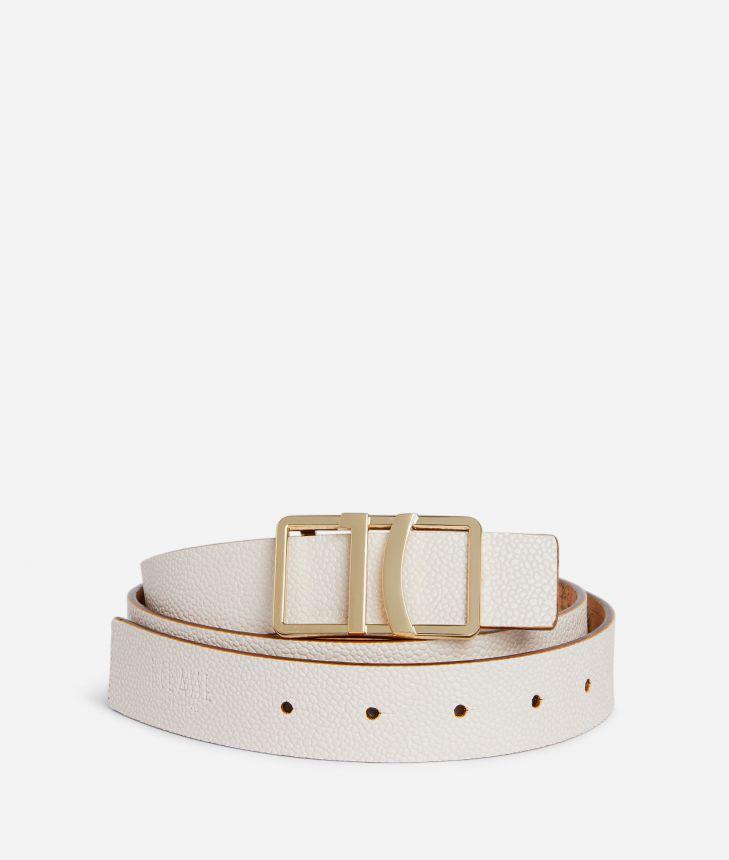 Dream Way Reversible belt White,front