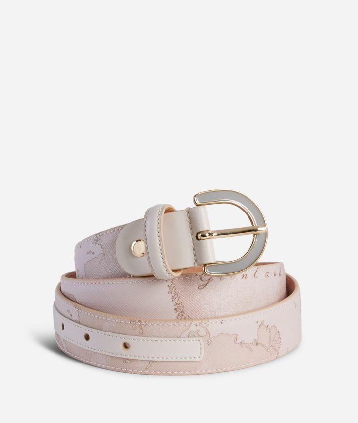 Geo Nude Belt Pink,front