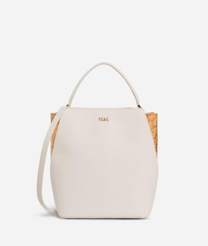 Dream Way Bucket Bag White,front