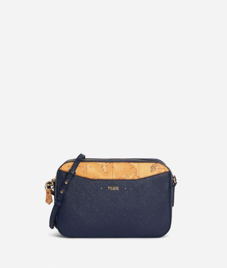 Star City Medium crossbody bag Blue,front