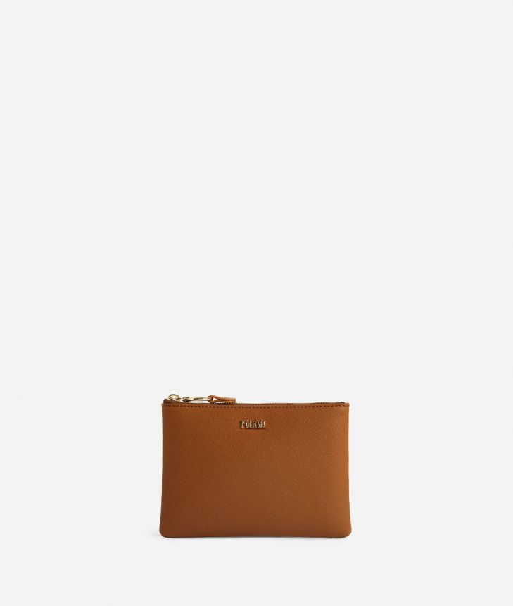 Star City Pouch Brown,front