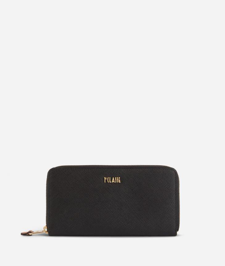 Star City Ziparound wallet Black,front