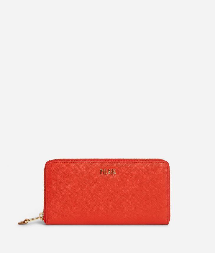 Star City Ziparound wallet Red,front