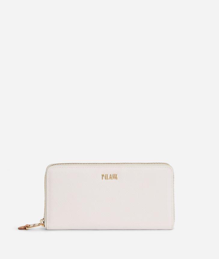 Star City Ziparound wallet White,front