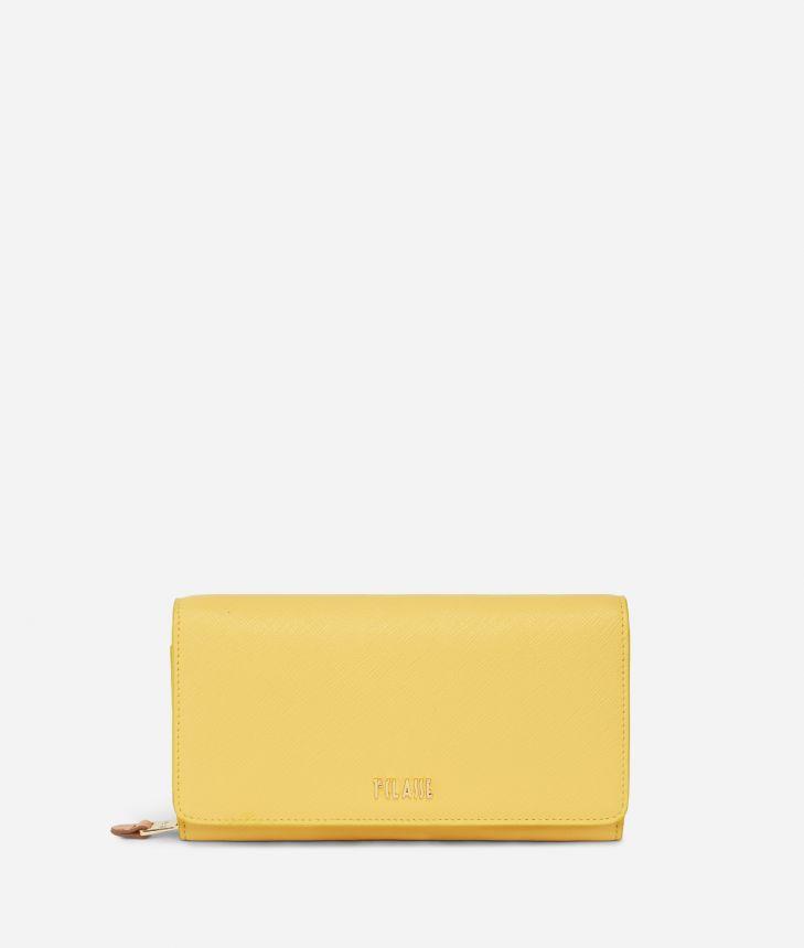 Star City Bifolder wallet Yellow,front