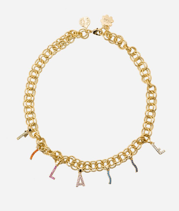 Necklace with Charms 1a Classe,front