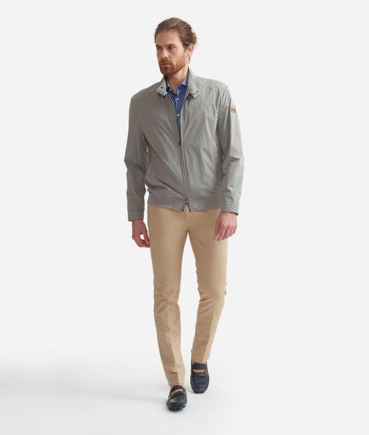 Bomber jacket Beige,front