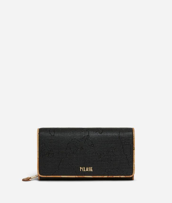 Dream Geo Woman's wallet Black,front