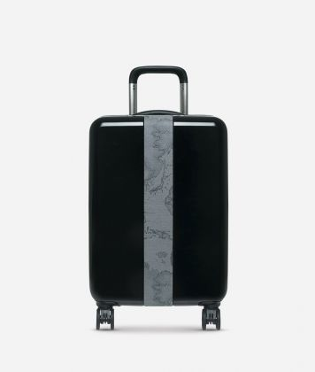 Solid Case Small suitcase in Geo Dark