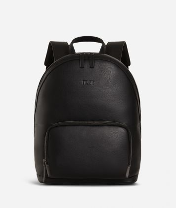 Backpack leather black