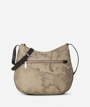 Geo Tortora Medium crossbody bag