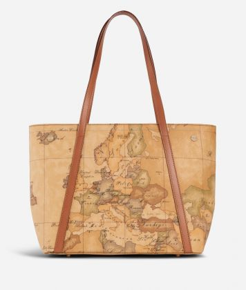 Geo Classic Shopping bag con borchiette media