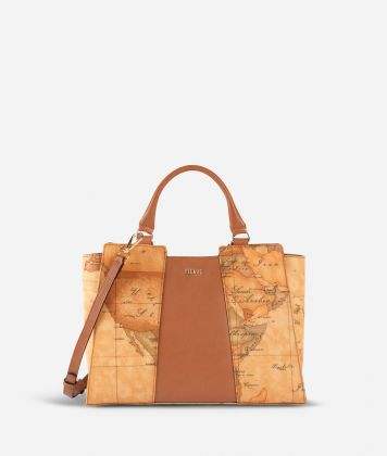 Geo Classic Small handbag with central insert