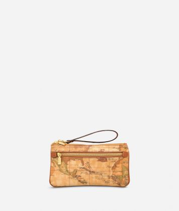 Geo Classic Large wristlet pouch
