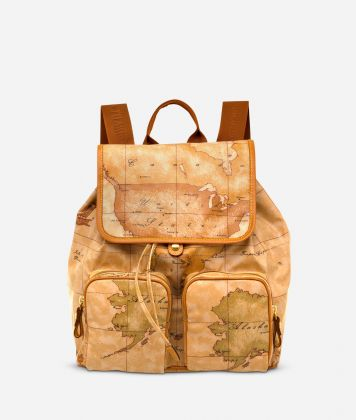 Geo Soft Backpack with double pocket