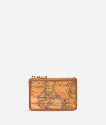 Geo Classic Zipped card holder